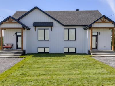Maison neuve jumelé neuf à vendre au 10, rue Brindle à Warwick