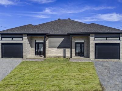 Maison neuve à vendre au 49, rue Honoré à Victoriaville