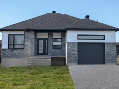 Maison neuve à vendre au 132, rue Métivier à Victoriaville
